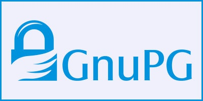 Logo de GNU Privacy Guard en www.gnupg.org